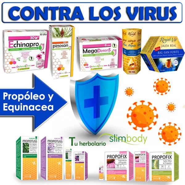 Contra los virus propoleo y equinacea y equinacea